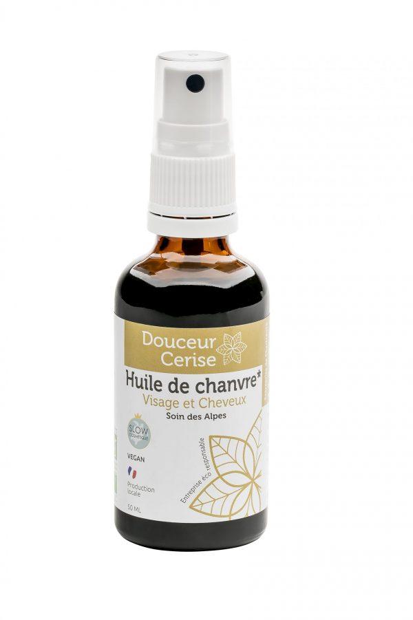 huile bio pour les cheveux